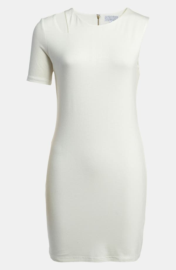 Main Image - Lucca Couture Single Sleeve Cutout Dress