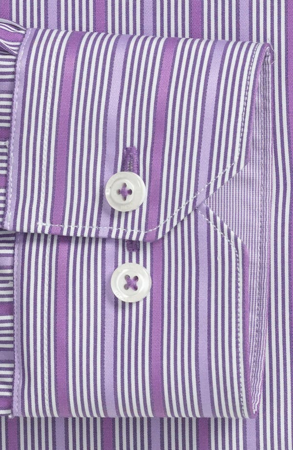 Alternate Image 2  - Bugatchi Trim Fit Dress Shirt