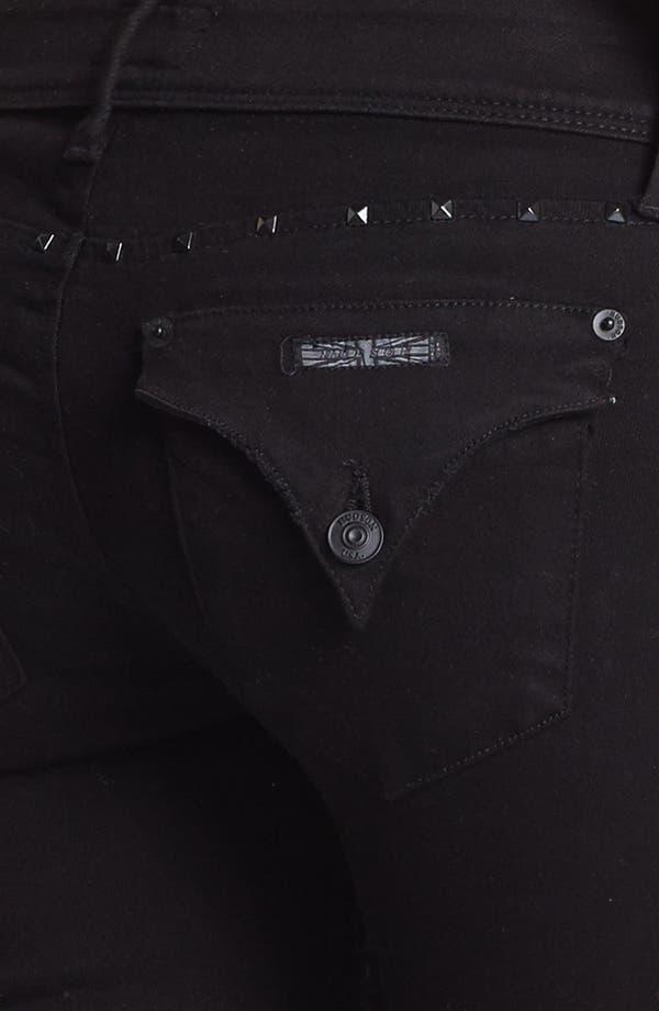 Alternate Image 3  - Hudson Jeans 'Collin' Studded Destroyed Skinny Jeans (Vintage Vienna)