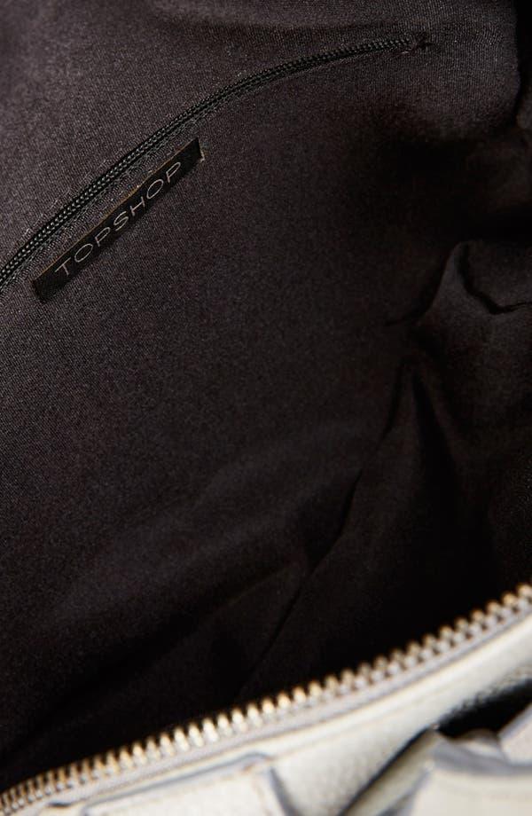 Alternate Image 3  - Topshop Faux Leather Mini Satchel