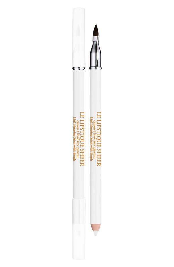 Main Image - Lancôme Le Lipstique Dual Ended Lip Pencil with Brush
