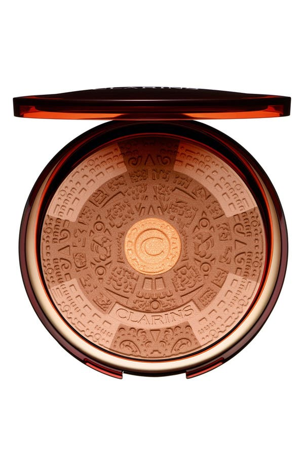 Alternate Image 1 Selected - Clarins 'Splendours' Summer Bronzing Compact