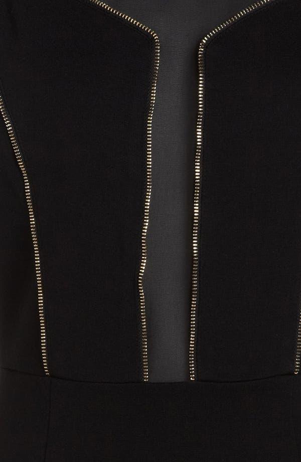 Alternate Image 3  - ASTR Zip Trim Body-Con Dress