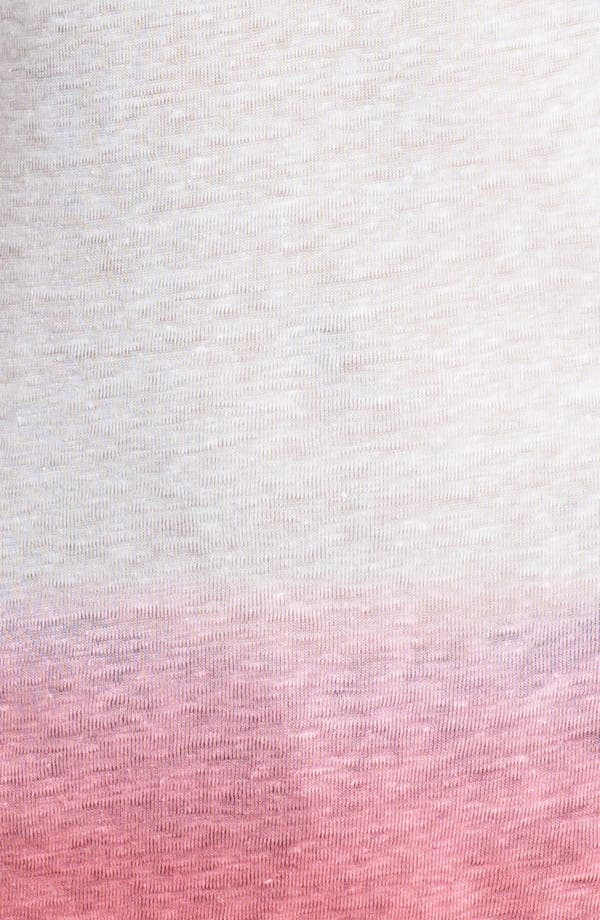 Alternate Image 3  - Majestic Dip Dye Linen Tee
