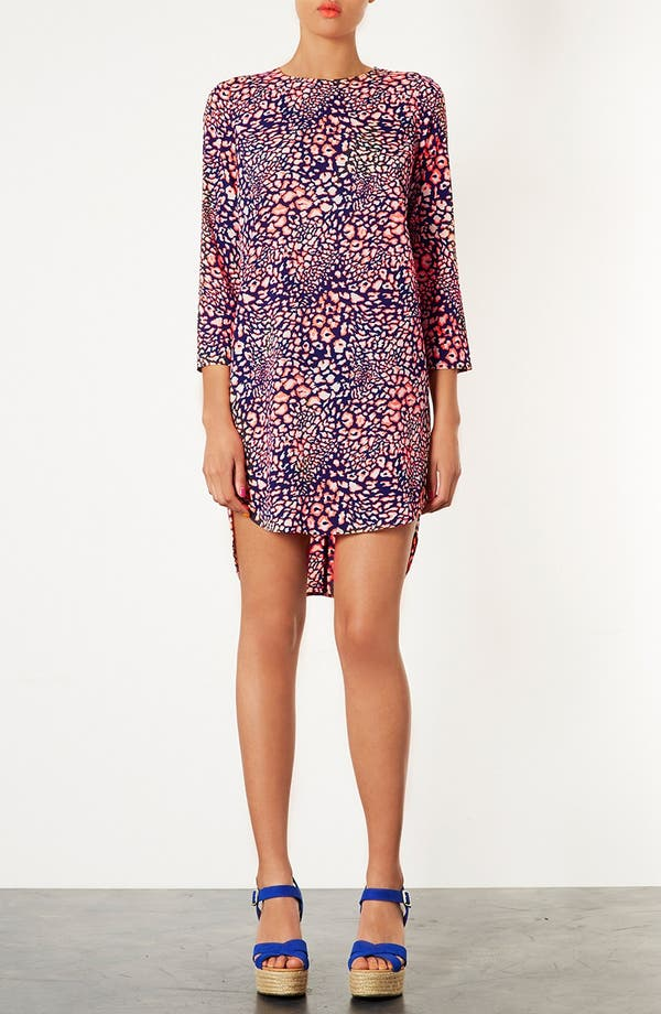 Alternate Image 1 Selected - Topshop Animal Print Tunic Dress