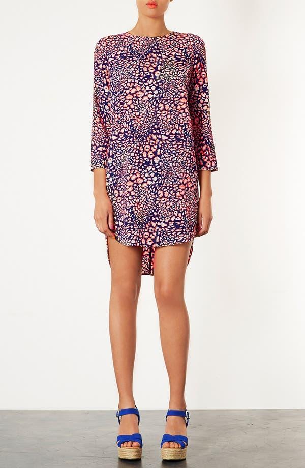 Main Image - Topshop Animal Print Tunic Dress