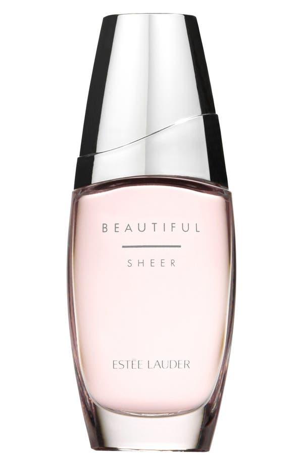 Beautiful Sheer Eau de Parfum Spray,                         Main,                         color, No Color