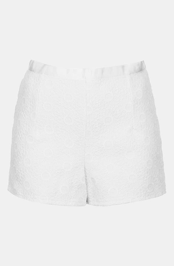Alternate Image 3  - Topshop 'Lola' Lace Shorts