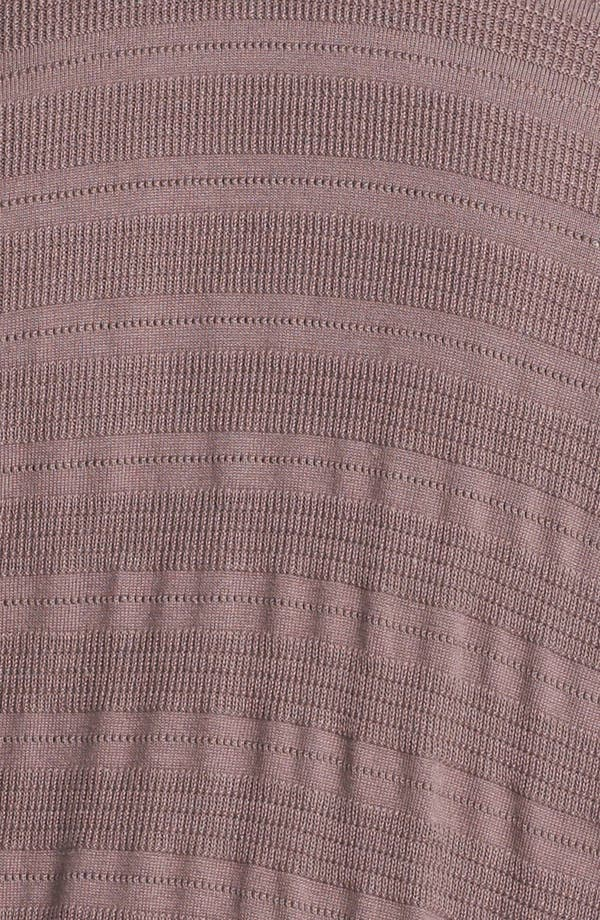 Alternate Image 3  - Sejour Novelty Stitch Cardigan (Plus Size)