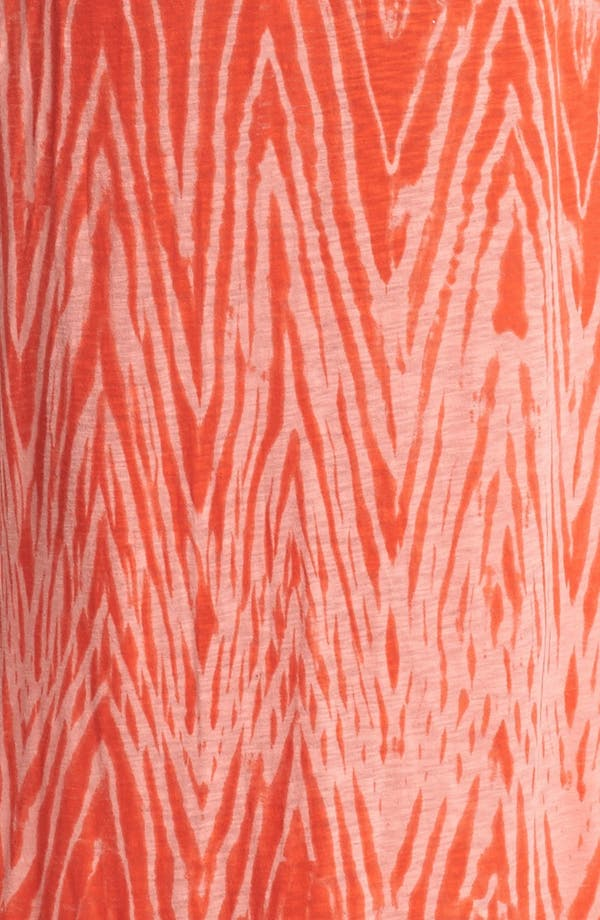 Alternate Image 3  - Lucky Brand V-Neck Print Maxi Dress