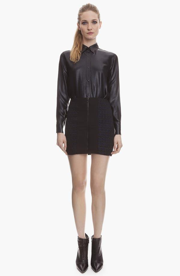 Main Image - sandro 'Jacinthe' Jacquard Miniskirt
