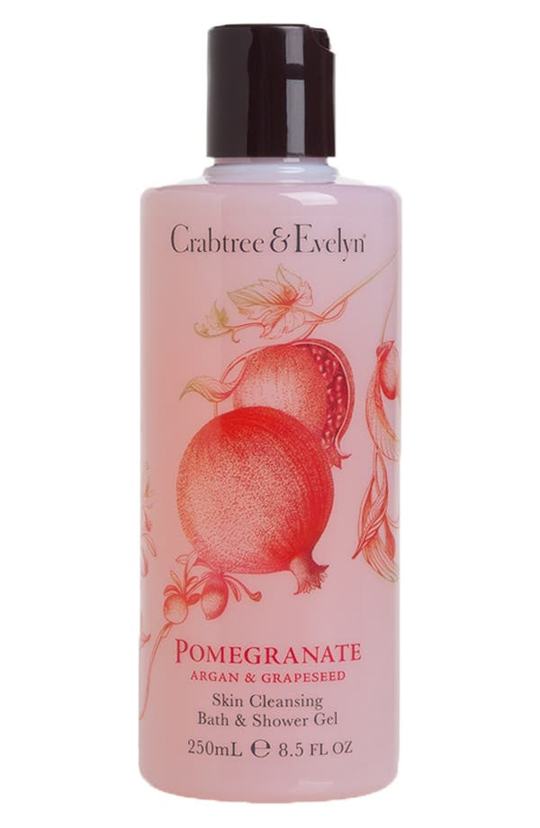 Main Image - Crabtree & Evelyn 'Pomegranate, Argan & Grapeseed' Skin Cleansing Bath & Shower Gel