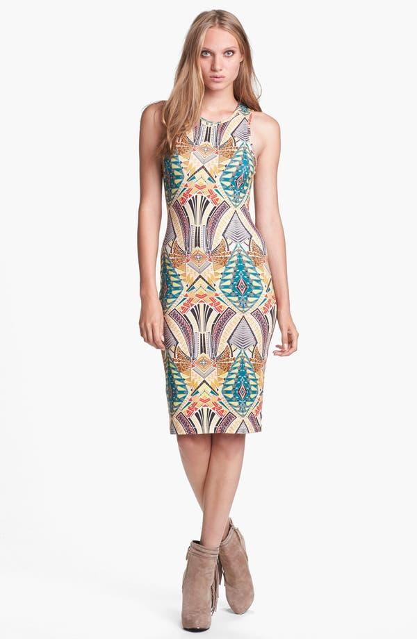 Main Image - WAYF Print Body-Con Tank Dress