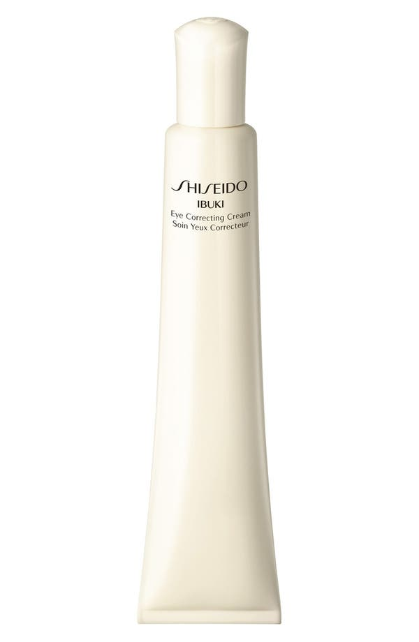 Alternate Image 1 Selected - Shiseido 'Ibuki' Eye Correcting Cream