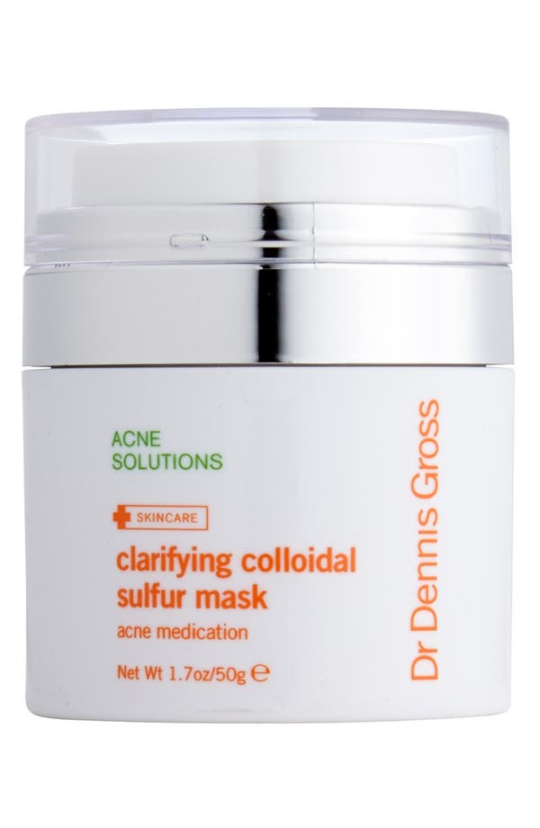 Alternate Image 1 Selected - Dr. Dennis Gross Skincare Clarifying Colloidal Sulfur Mask