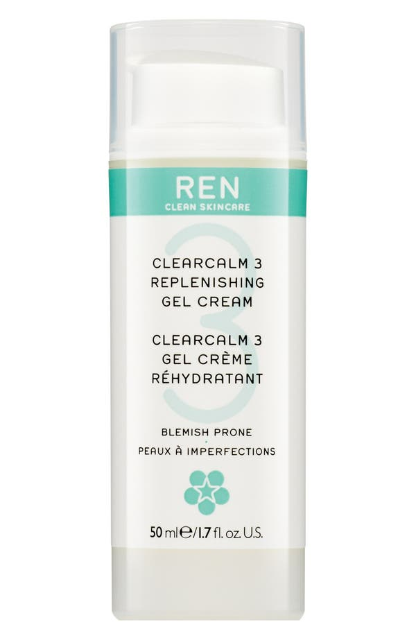 Alternate Image 1 Selected - SPACE.NK.apothecary REN Clearcalm 3 Replenishing Gel Creme