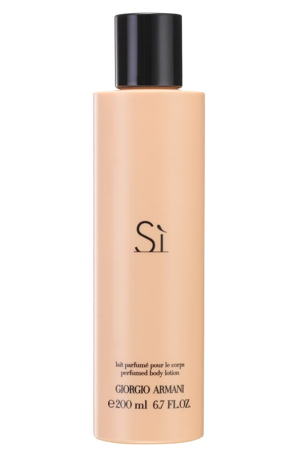'Si' Body Lotion,                             Main thumbnail 1, color,                             No Color
