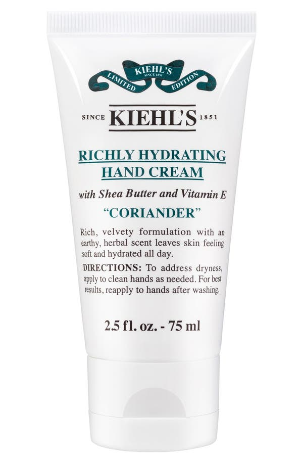 Main Image - Kiehl's Since 1851 Coriander Righly Hydrating Scented Cream