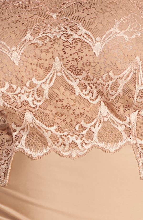 Lace Impression Camisole,                             Alternate thumbnail 6, color,                             Brush
