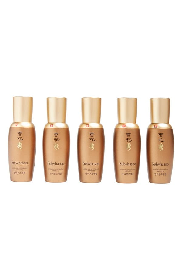 Main Image - Sulwhasoo Herblinic Restorative Ampoules