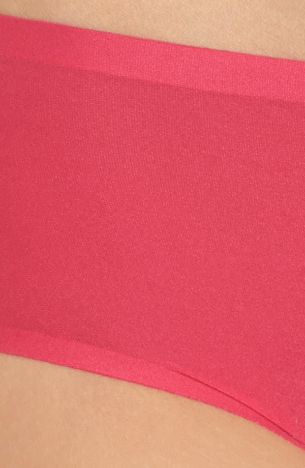 Soft Stretch Seamless Hipster Panties,                             Alternate thumbnail 4, color,                             Raspberry