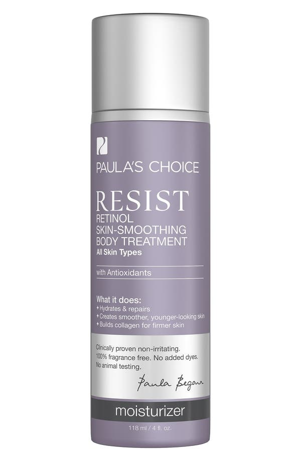 Resist Retinol Skin Smoothing Body Treatment,                         Main,                         color, No Color