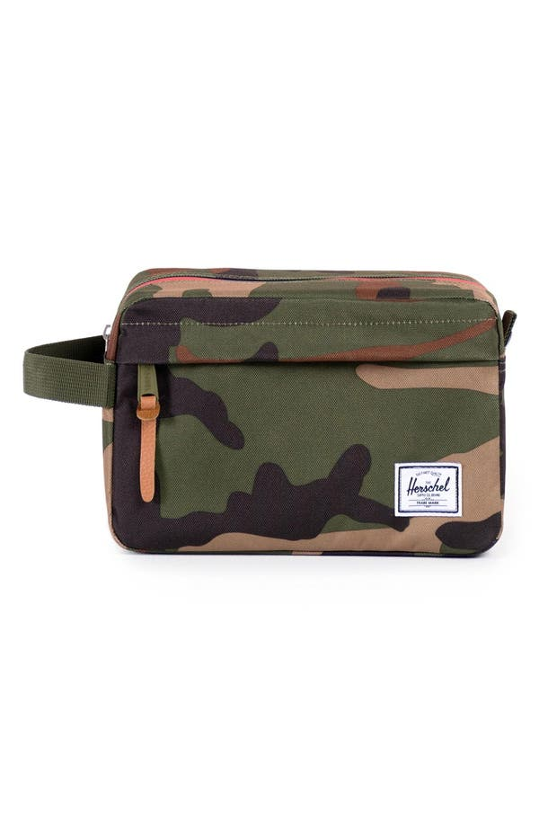 'Chapter' Travel Kit,                             Main thumbnail 1, color,                             Woodland Camo