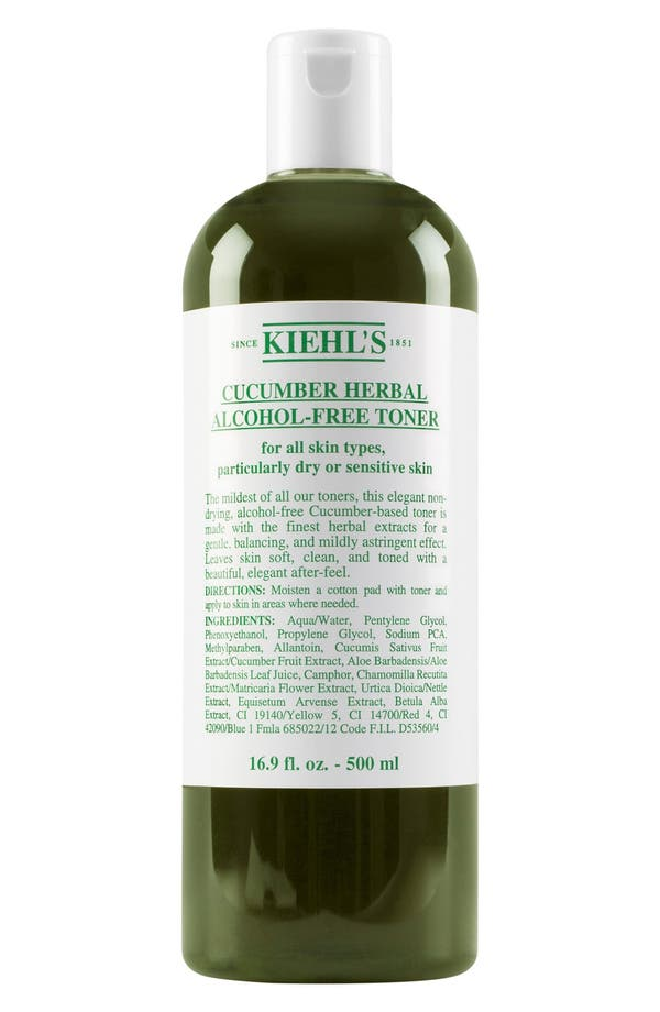 Alternate Image 2  - Kiehl's Since 1851 Cucumber Herbal Alcohol-Free Toner