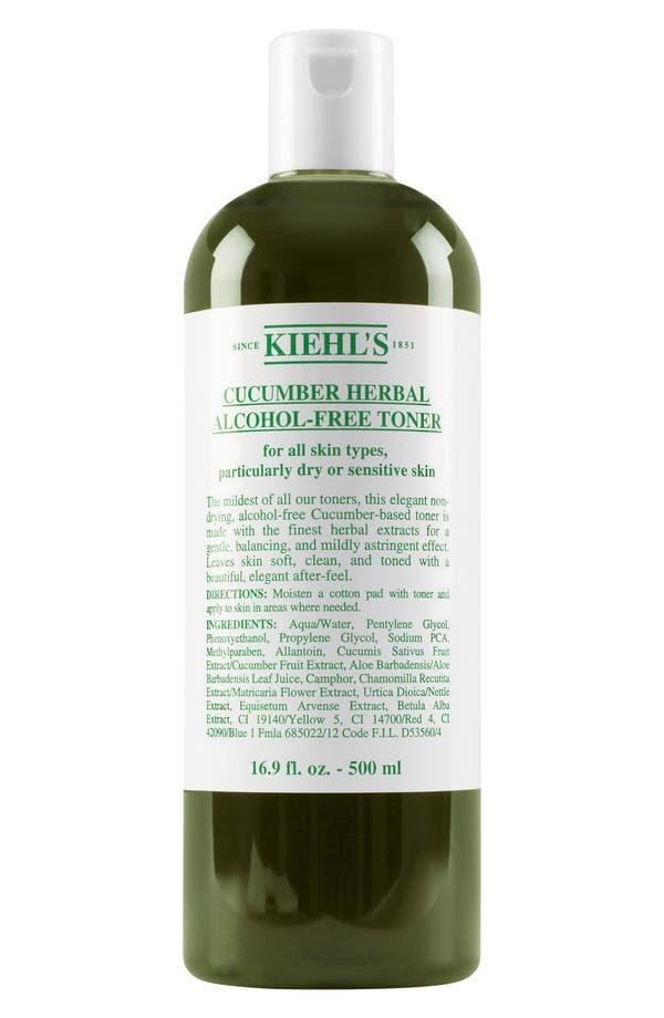 Cucumber Herbal Alcohol-Free Toner,                             Alternate thumbnail 3, color,                             No Color