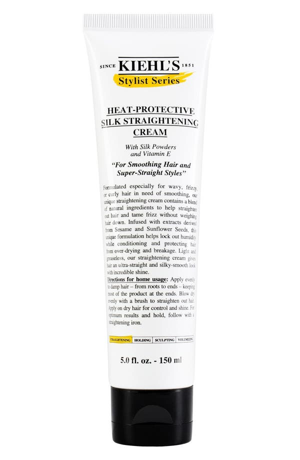 Alternate Image 1 Selected - Kiehl's Since 1851 Heat-Protective Silk Straightening Cream