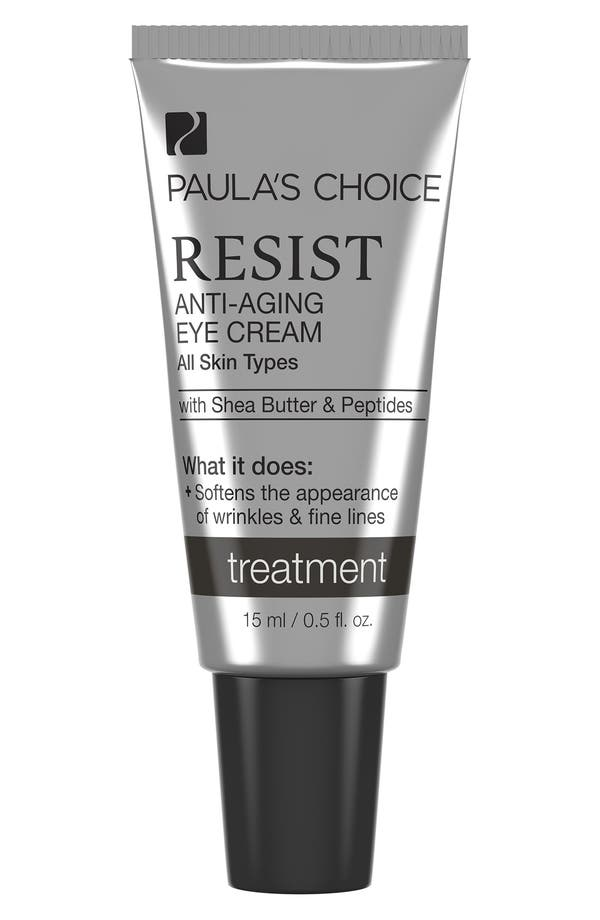 Resist Anti-Aging Eye Cream,                             Main thumbnail 1, color,                             None