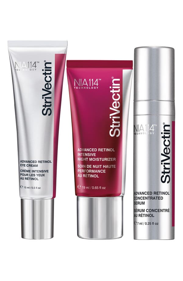 StriVectin-AR<sup>™</sup> 'Power Starters' Advanced Retinol Trio,                             Main thumbnail 1, color,                             No Color
