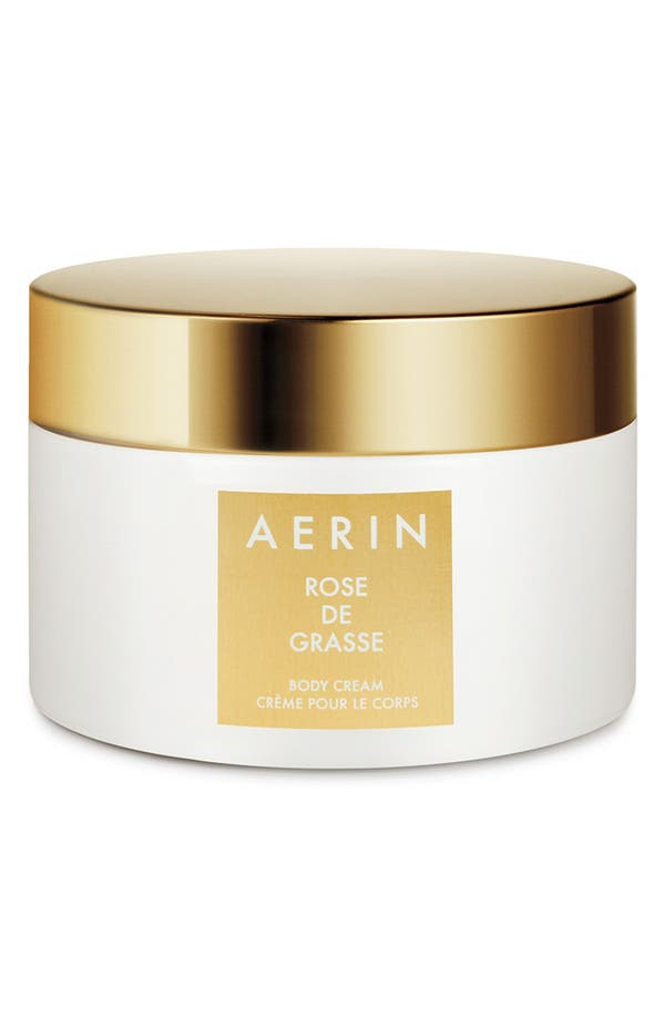 AERIN Beauty Rose de Grasse Body Cream,                             Main thumbnail 1, color,                             No Color