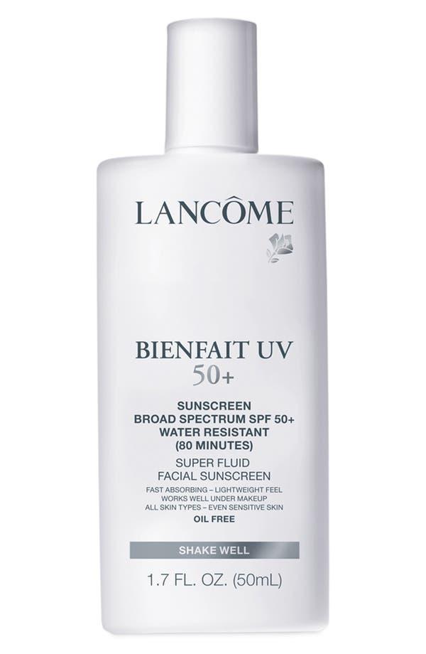 Main Image - Lancôme Bienfait UV Super Fluid Facial Sunscreen SPF 50+