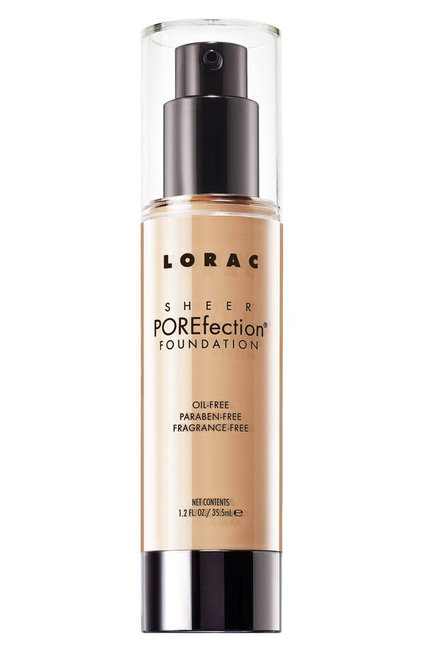 'Sheer POREfection<sup>®</sup>' Foundation,                             Main thumbnail 1, color,                             Ps3 Light Beige