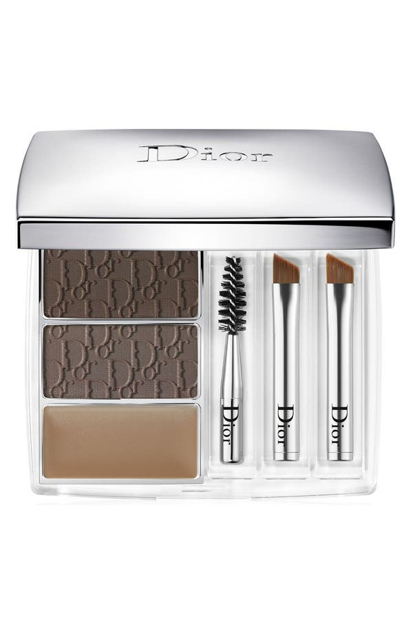 'All-in-Brow' 3D Long-Wear Brow Contour Kit,                             Main thumbnail 1, color,                             001 Brown