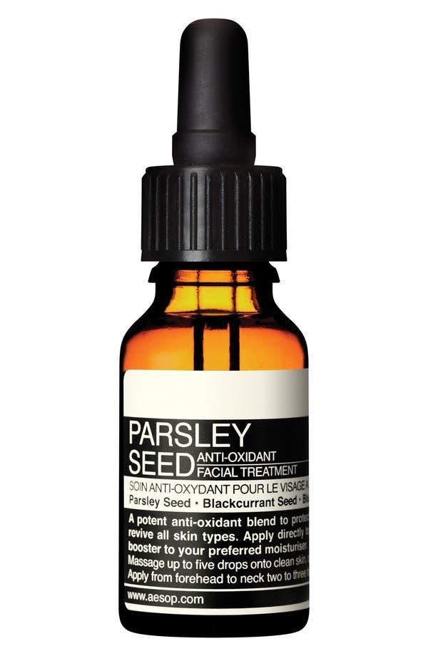 Parsley Seed Anti-Oxidant Facial Treatment,                             Main thumbnail 1, color,                             None