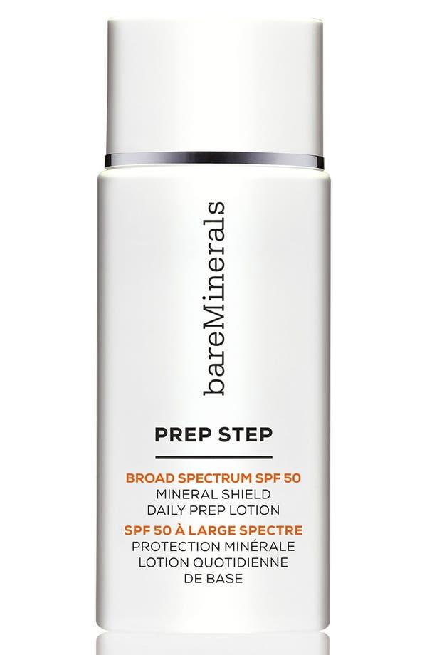 Prep Step Mineral Shield Daily Prep Lotion Broad Spectrum SPF 50,                         Main,                         color, No Color