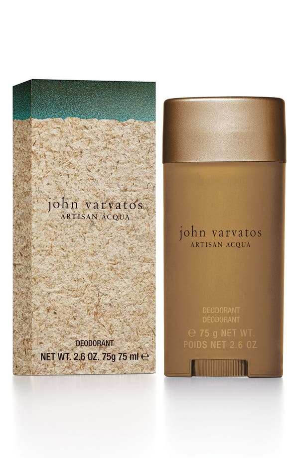 John Varvatos 'Artisan Acqua' Deodorant,                             Main thumbnail 1, color,                             No Color