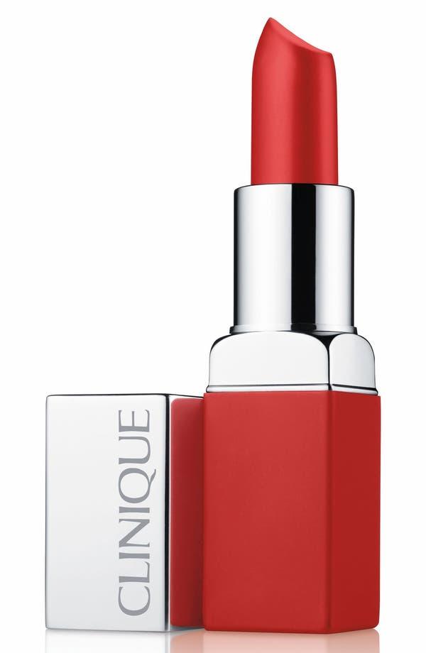 Pop Matte Lip Color + Primer,                             Main thumbnail 1, color,                             Ruby Pop