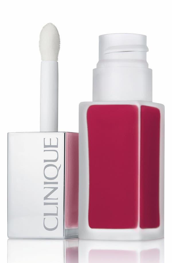 Alternate Image 1 Selected - Clinique 'Pop Liquid' Matte Lip Color + Primer