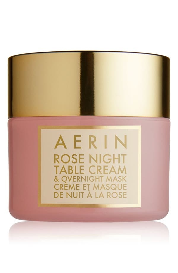 Alternate Image 1 Selected - AERIN Beauty Rose Night Table Cream & Overnight Mask