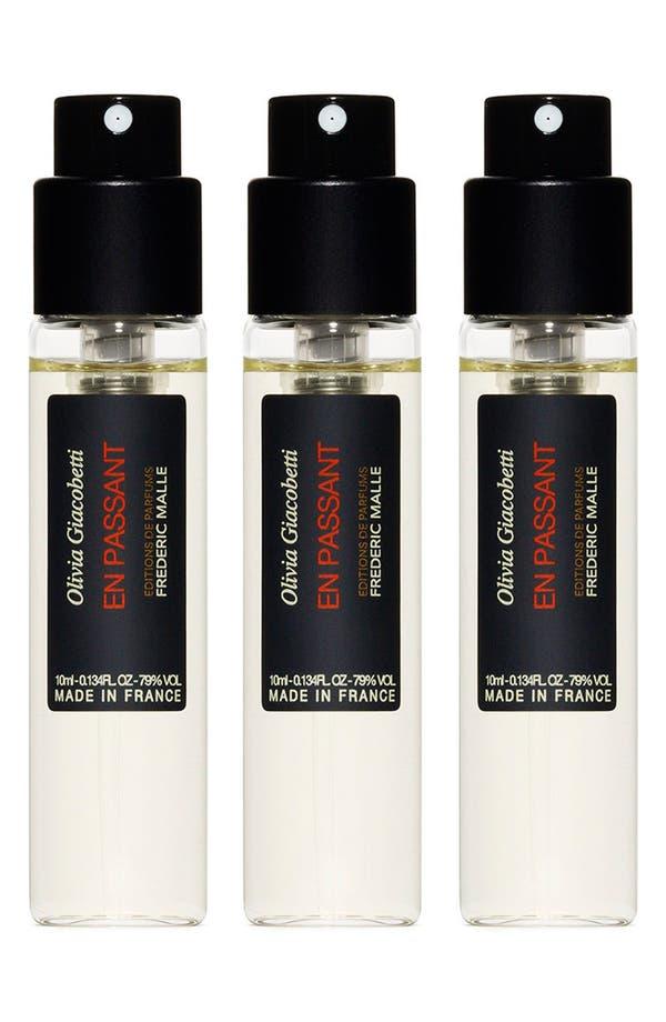 Main Image - Editions de Parfums Frédéric Malle En Passant Parfum Spray Travel Trio