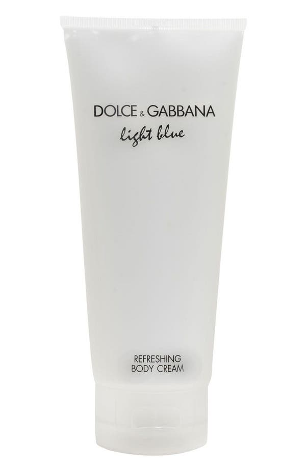 Main Image - Dolce&Gabbana Beauty 'Light Blue' Refreshing Body Cream