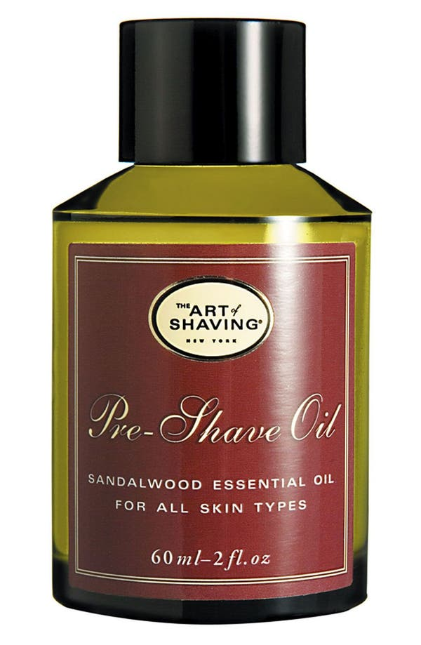 Sandalwood Pre-Shave Oil,                             Main thumbnail 1, color,