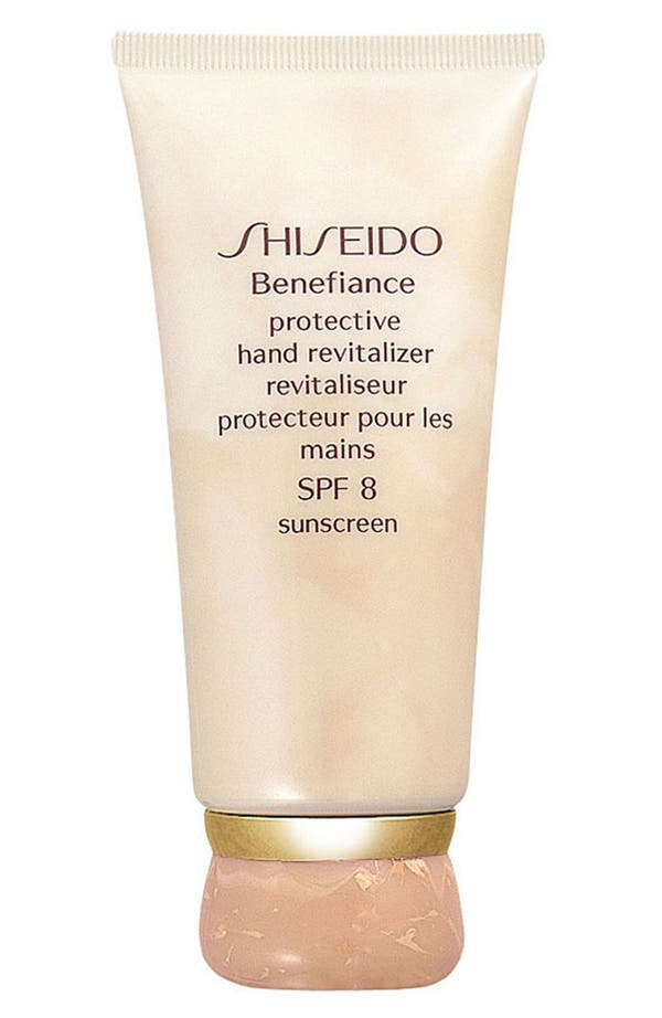 Alternate Image 1 Selected - Shiseido 'Benefiance' Protective Hand Revitalizer (SPF 8)
