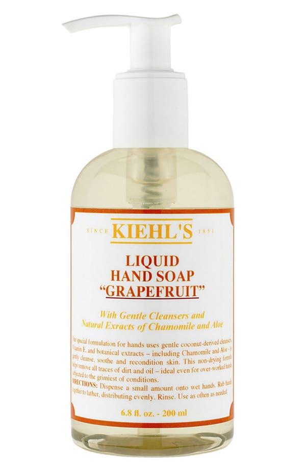 Alternate Image 1 Selected - Kiehl's Since 1851 Liquid Hand Soap (Grapefruit)