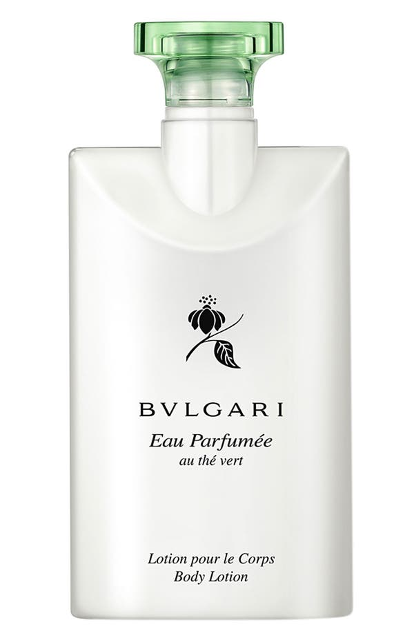 Alternate Image 1 Selected - BVLGARI 'Eau Parfumée au thé vert' Body Lotion