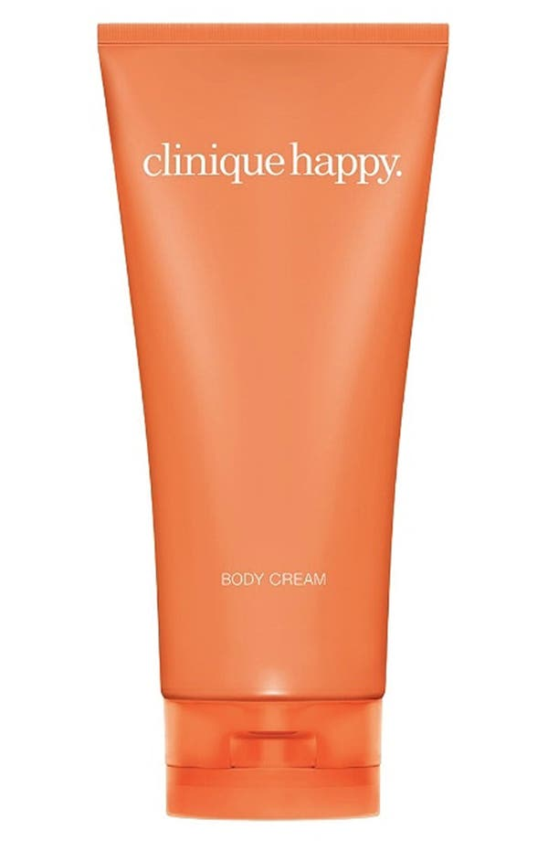 Alternate Image 1 Selected - Clinique 'Happy' Body Cream