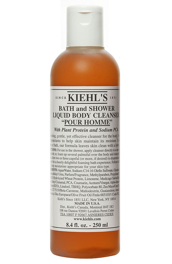 Alternate Image 1 Selected - Kiehl's Since 1851 Bath & Shower Liquid Body Cleanser (Pour Homme)